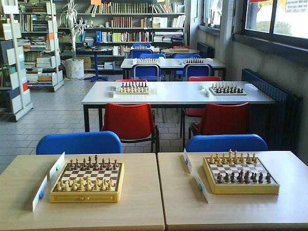 Tutto pronto per il torneo di scacchi