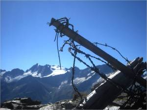 Filo spinato sul gruppo della Presanella - barbed wire