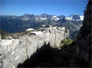 Trincea sulla cima Cadì - Trench on Cima Cadì