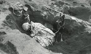 Soldato Che Dorme In Trincea
