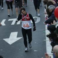 Alessandra Alari alla maratona di New York