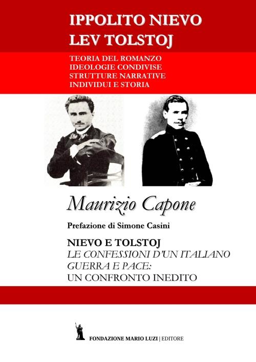 copertina Nievo e Tolstoj di Maurizio Capone
