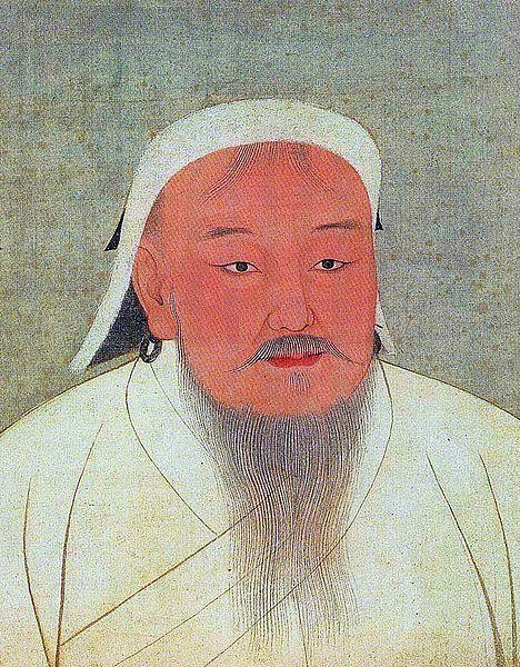 ritratto di Genghis Khan