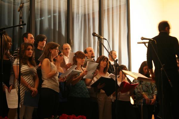fotografia del coro