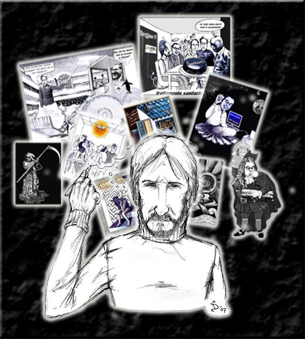 Colavolpe disegnatore di Dario Passaro