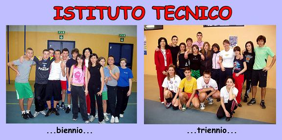 Collage con la foto della squadra di biennio e triennio di ITC. By Marco Mordini