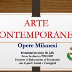 Arte Contemporanea a Milano