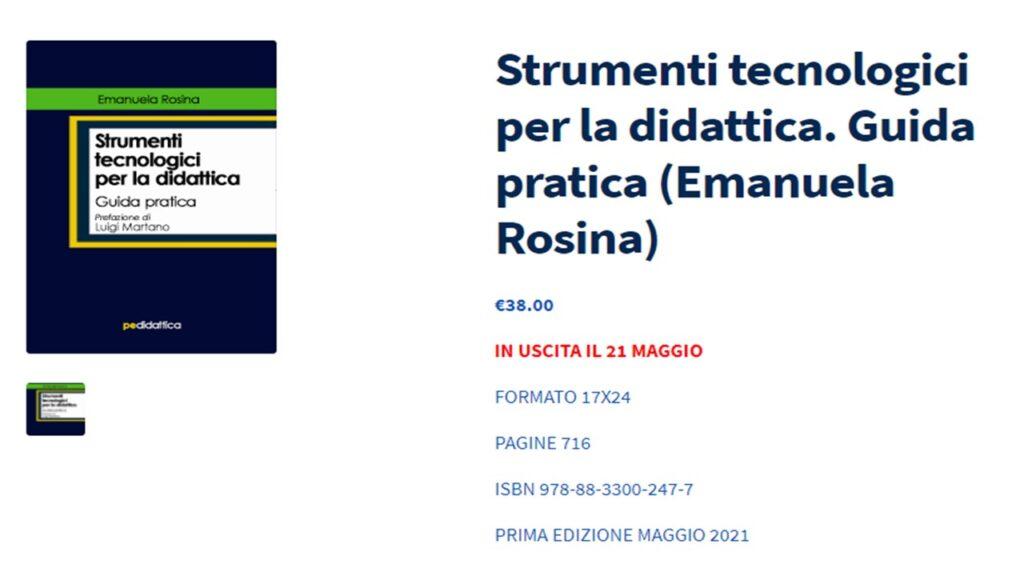 Copertina manuale Rosina