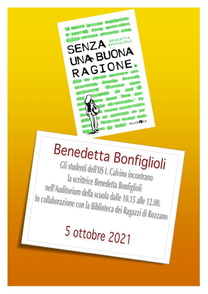Incontro con l'Autore - Bonfiglioli